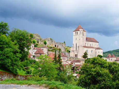 Boucle itinérante - Panorama sur Saint-Cirq-Lapopie et le Géoparc des Causses du Quercy