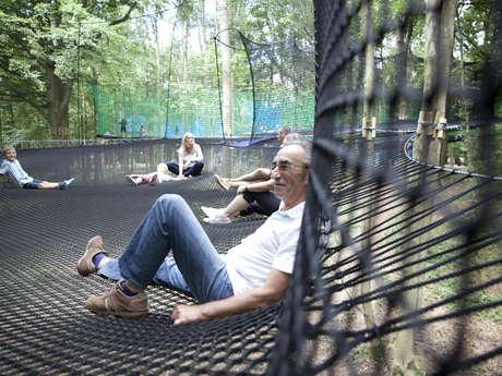 Parcours de filets - Parc d'Olhain