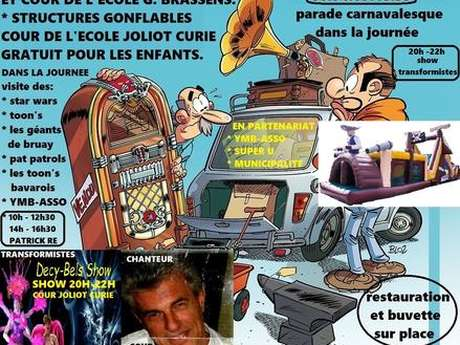 Brocante et Animations par les Toons Parade