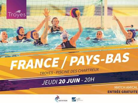 Water Polo - France / Pays-Bas