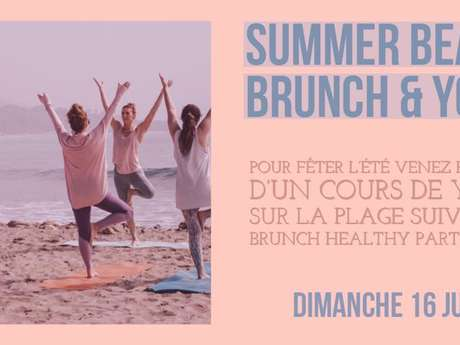 Summer Beach Brunch & Yoga