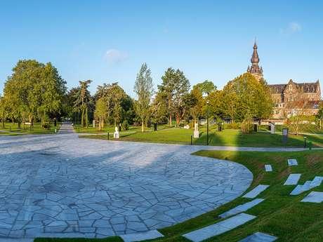 Le jardin Jacques Chirac, parc des Prix de Rome