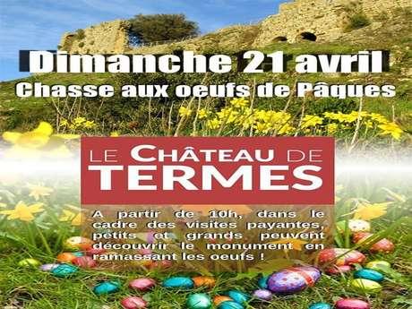 Chasse aux oeufs de Pâques au Château de Termes