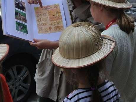 Safari Art déco en famille