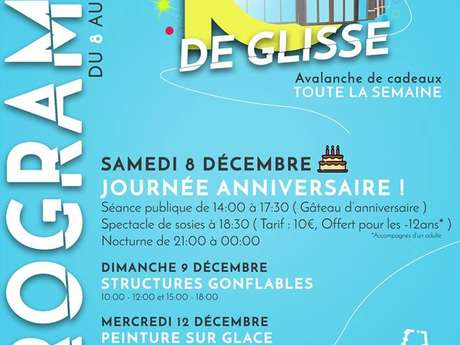 La Patinoire des 3 Seine fête ses 10 ans
