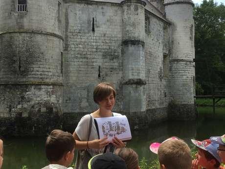 Apprenti teinturier au château de Créminil