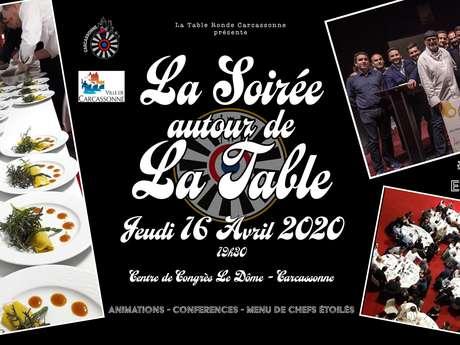 LA SOIREE AUTOUR DE LA TABLE - 3EME EDITION