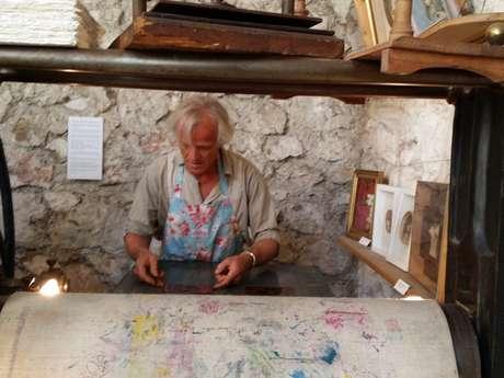 L'Atelier du Safranier – Engraving