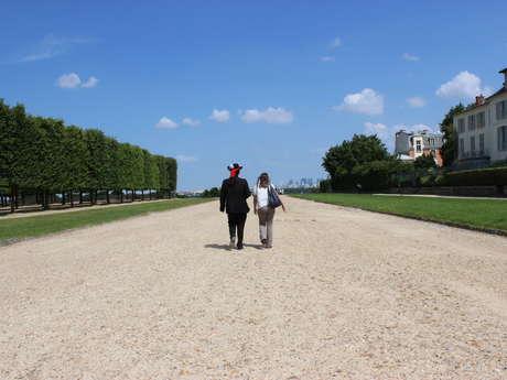 Promenade au Parc du château de Saint-Germain-en-Laye