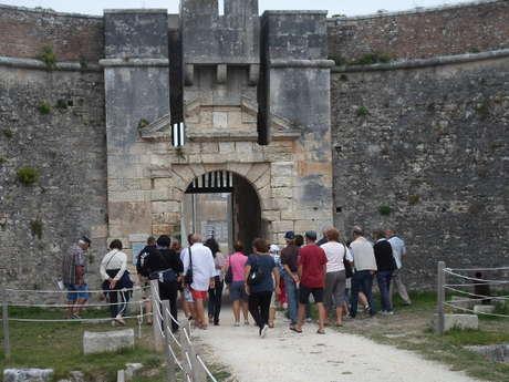 VISITE HISTORIQUE DU FORT LA PREE (libre et guidée)