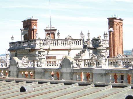 Visites des toits du château