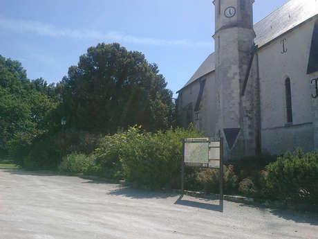 Aire de stationnement de Courmemin