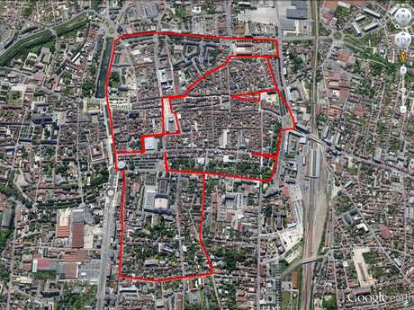 "Circuit ""Bonhomme"" GPS Drawing"