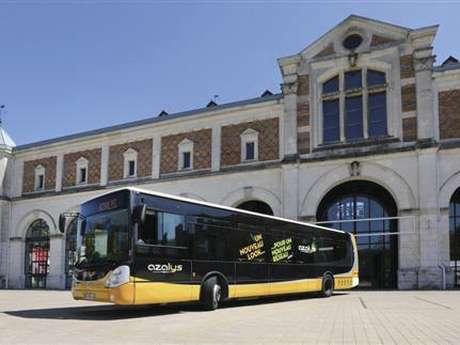 Azalys shuttle Blois > Onzain > Chaumont-sur-Loire