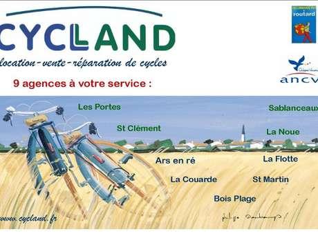 CYCLAND - LE BOIS-PLAGE