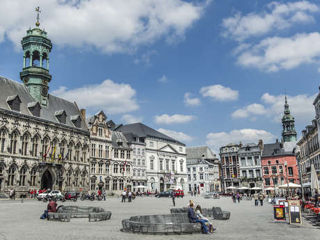 Discover the historic centre of Mons