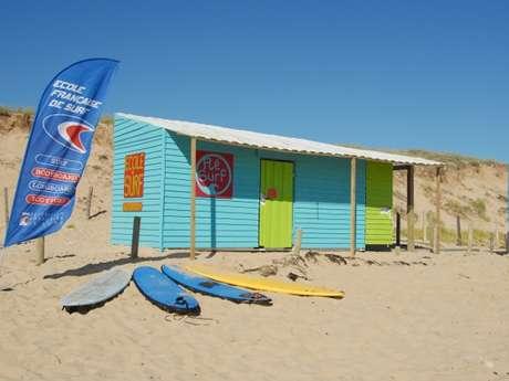 ECOLE DE SURF - RE SURF - LE BOIS-PLAGE