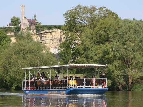 Barco por el Loira Ligérienne de navigation