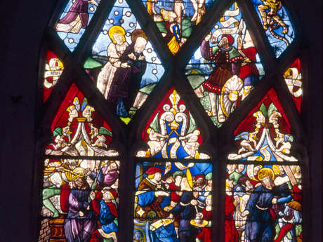 Eglise de la Nativité de la Vierge à Berulle