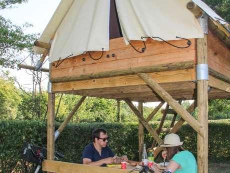 La Tente Bivouac du Camping de Coupeau