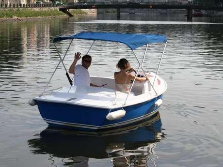 Location de bateaux sans permis - Halte Fluviale de Laval