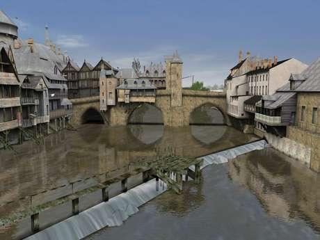 La rivière, la Mayenne