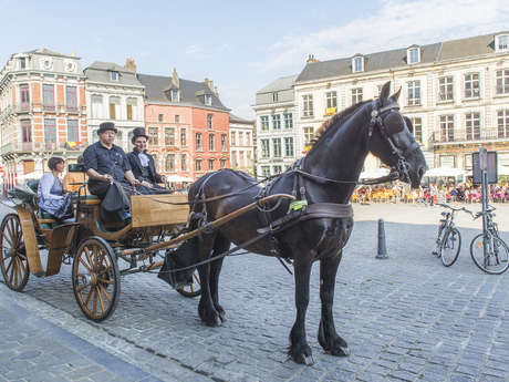 Balades en Calèches (outings in horse-drawn carriages)