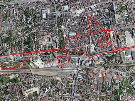 Circuit « La Sorcière » GPS Drawing