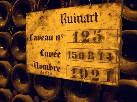 Visites Champagne Ruinart