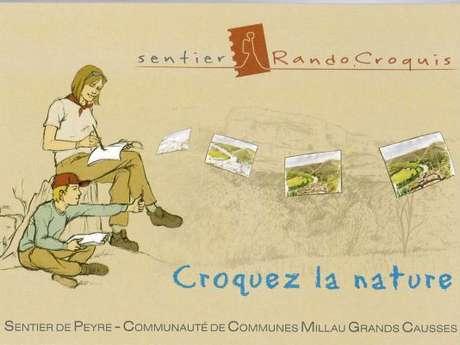 RANDO Sentier Randocroquis de Peyre