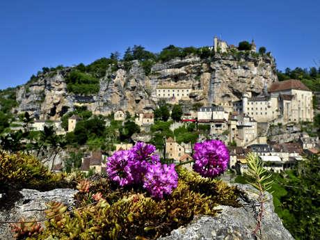 Balade en famille à Rocamadour