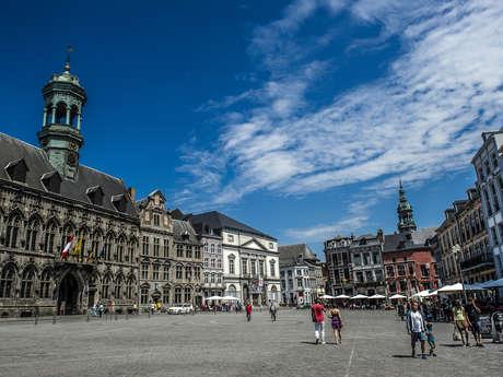 Excursion: Mons cité porte-bonheur à la carte