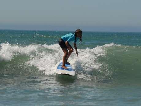ECOLE DE SURF - RE SURF - LES PORTES