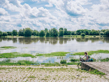 Angers by bike : weekend with your family