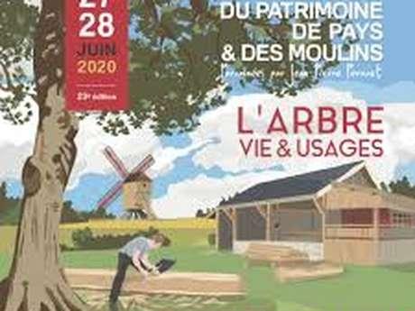 LES JOURNEES DU PATRIMOINE DE PAYS ET DES MOULINS REPORTÉ 2021