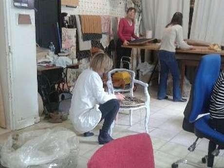 Atelier tapissier de rénovation de fauteuils