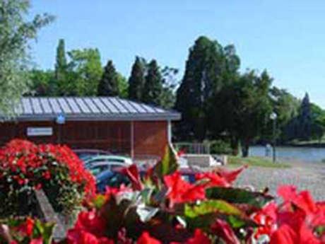 Aire de service camping-car de Soissons