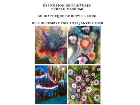 Exposition de peintures de Behzad Masoumi