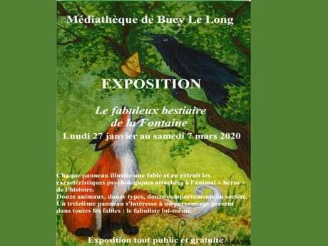 """Exposition : Le fabuleux bestiaire de la Fontaine"""""""