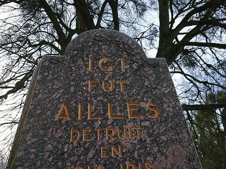 Le monument d'Ailles