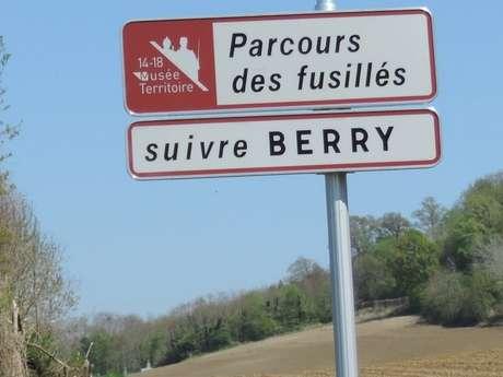 """Circuit routier """"Fusillés et mutins 14-18"""""""