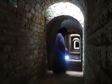 Visite guidée nocturne au fort de Condé