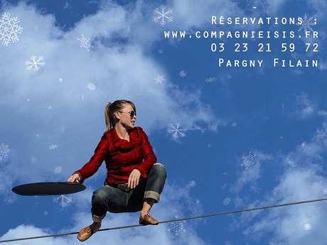 Spectacle de cirque pour fêter Noël à Pargny-Filain !