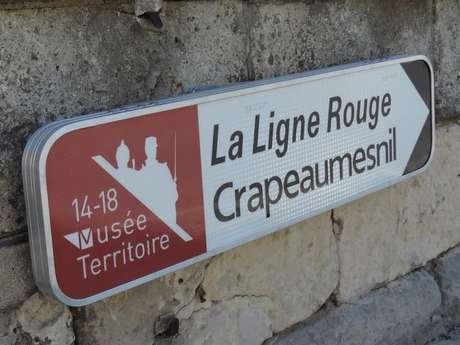 """Circuit routier """"La Ligne Rouge"""""""