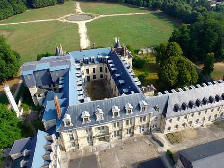 Le parc du château de Villers-Cotterêts
