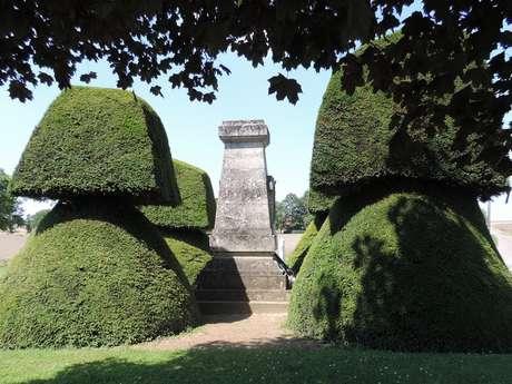 Monuments de l'Offensive 1918 à Dommiers et Saint Pierre Aigle