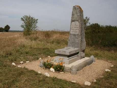 Le monument de l'offensive 1918 à Ressons-le-Long