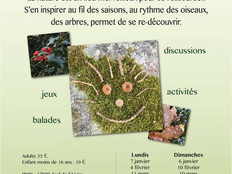 """Balades Ateliers """"MAGIE de la Nature"""""""