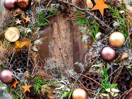 Décoration de Noël au naturel