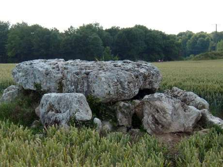 Le dolmen de la Pierre Laye